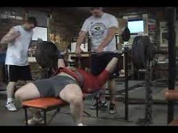 Dumbbell Bench Press With Chains  YouTubeChains Bench Press