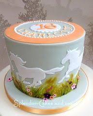 Wild Horses Birthday Cake Horse Cakes Horse Cake Cake