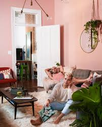 Pink Rugs For Living Room Pretty In Pink Living Room Upgrade White Shaggy Area Rug