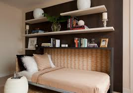 sweet contemporary bedroom wall bed is floating shelves with fold down bed with open shelves with