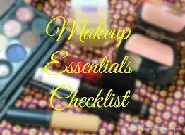a beginner s makeup essentials checklist
