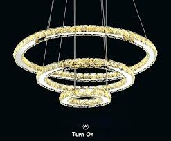 full size of ring led light crystal chandelier modern ellipse 3 4 of pendant lamp ceiling