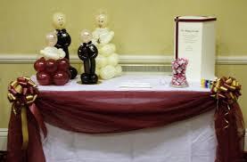 Bride Groom Table Decoration Similiar Burgundy Table Decorations Keywords