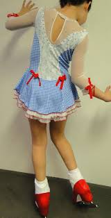 dorothy from the wizard of oz in her new custom figure skating  dorothy from the wizard of oz in her new custom figure skating dress and she