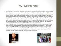 essay on my favourite actress  essay on my favourite actress