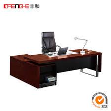 furniture office desks. Bahan Kayu Standar Eksekutif Meja Kantor Furniture Ukuran Office Desks