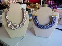 How To Make Jewelry Stands And Displays Mesmerizing Tutorial Make Your Own Fabric Covered Necklace Display Stand Here's