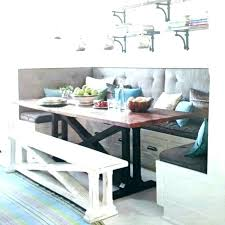 kitchen table with built in bench. Built In Kitchen Table Benches Bench With Storage For Tables . E