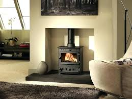 convert fireplace to wood stove gas