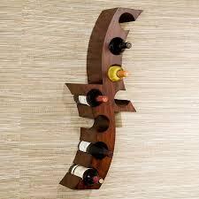 types of wine racks. Exellent Types Boston Loft Furnishings Calabria 8Bottle Rust WallMount Wine Rack Throughout Types Of Racks N