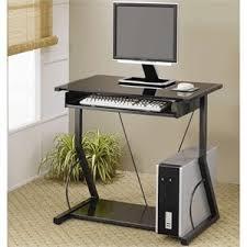desktop computer furniture. Coaster Desks Contemporary Computer Desk With Keyboard Tray In Black Desktop Furniture