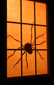 Day 27: Spooky Spider Silhouette.
