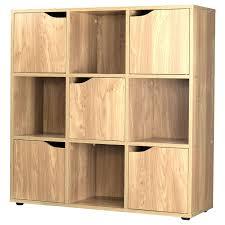 wooden bookcase furniture storage shelves shelving unit. Flossy Oak Cube Door Wooden Storage Unit Display Shelving Bookcase Wooden Bookcase Furniture Storage Shelves Shelving Unit