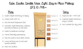 estee lauder double wear light foundation