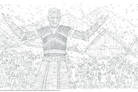 Game Of Thrones Coloring Pages Sigils Book For Adults See New The