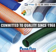 ponaflex was elished in 1968 and has nearly 50 years of pvc hose manufacturing experience