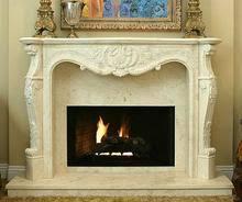 Stone Fireplace Mantels  Stone Surrounds  American PacificLimestone Fireplace Mantels