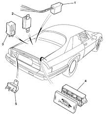 trunk mounted relay and fusebox parts for xjs from v 179737 to xjs from v 179737 up to v 226645 electrical