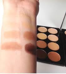 makeup revolution ultra cover and concealer palette um dark