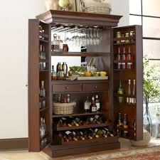 Cherry Bar Cabinet Birch Lane Landon Bar Cabinet Reviews Birch Lane
