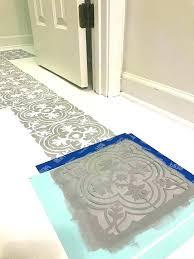 painting tile floor painting tile floor painted tile floor how to paint your linoleum or tile