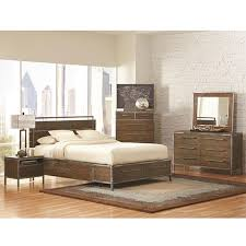 metal bedroom sets. audrey modern bedroom collection | industrial wood and metal set eurway sets