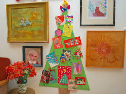 the office ornaments. Diy Christmas Decorations Ideas How To Make A Tree Corkboard Display Greeting Cards. Interior Design The Office Ornaments R