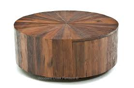 round wood coffee tables rustic modern table with metal legs