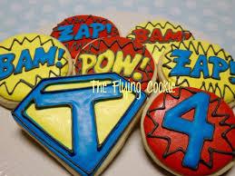 superhero sheet cake cookies the flying cookie page 4