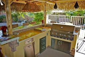Tropical Outdoor Kitchen Designs Interesting Decorating Ideas