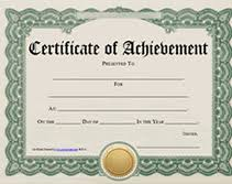 Printable Achievement Certificates Printable Achievement Certificates Free School Days Certificate