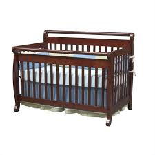 davinci emily 4 in 1 convertible crib with full bed rails in cherry