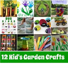 Kid S Garden Crafts Roundup Mother2motherblog Garden Craft Ideas For Preschoolers