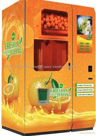 Orange Juice Vending Machine Australia