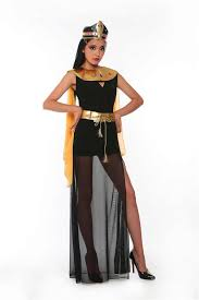 ... Deluxe Egyptian Queen Of The Pyramids Cleopatra Dress Adult Womenu0027s Egyptian  Goddess Costume Halloween Cosplay Party ...