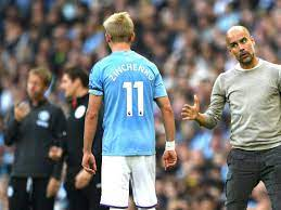 Zinchenko labels Guardiola 'number one' after wife slams Lyon tactics