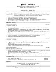 Field Service Engineer Resume Sample Sample Resume Mechanical Service Engineer Save Apprentice Automotive 2