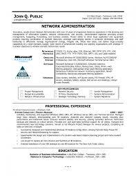 Network Administrator Resume Sample Pdf Inspirational Junior Of