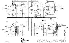 selmer treble n bass amplifier schematic