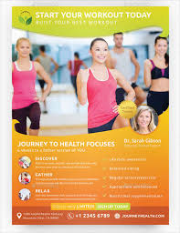 Fitness Flyer Templates Personal Training Flyers Examples - Hienle