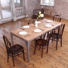 zinc dining room table. Zinc Top Rectangular Dining Table Room E