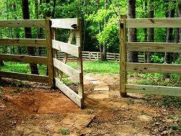 wood farm fence gate. 4 Board Fence And Gate With Attached 2x4 Welded Wire Fabric Wood Farm