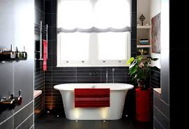 fantastic white black bathroom accessories amazing idea red and