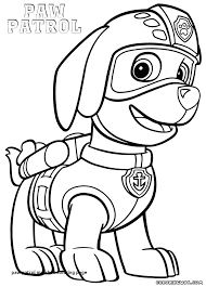 Coloring Pages Paw Patrol Coloring Books Pages Free Book Bulk Paw