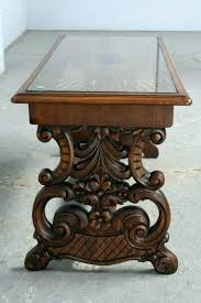 fancy carved coffee table next item oriental round west elm wood reviews