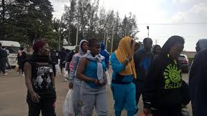 Image result for deported nigerian girls from libya