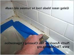 how to remove caulk from shower removing caulk from shower removing caulk from tile shower a how to remove caulk