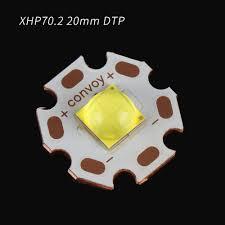 Haikelite MT03 MT09R XHP70.2 Đồng Chất Nền cho Đèn Pin 3x70.2 - Gooum