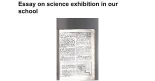 essay on science exhibition in our school google docs