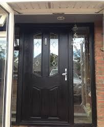 double glazed front doors and side panels glass door front regarding proportions 2277 x 2774